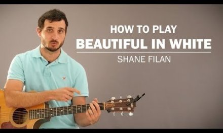 Beautiful In White (Shane Filan) | How To Play | Beginner Guitar Lesson