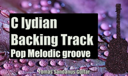 C lydian Backing Track | Melodic Pop Rock Groove Guitar Backtrack | Chords | Scale | BPM