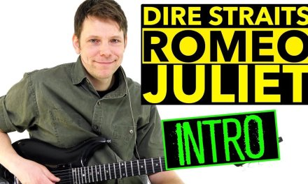 How To Play Romeo And Juliet Fingerstyle Guitar Lesson – Dire Straits – Mark Knopfler