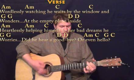 Helplessly Hoping (CSN&Y) Strum Guitar Cover Lesson with Chords/Lyrics