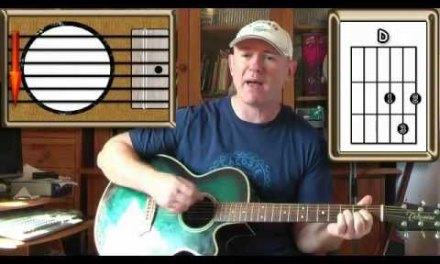 Carnation – The Jam (Paul Weller) – Acoustic Guitar Lesson