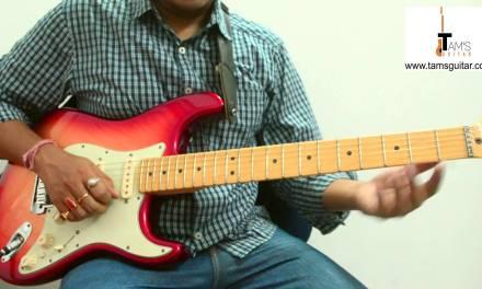 Sun raha hai na tu guitar solo lesson part 1