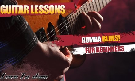 Learn How To Play Blues Guitar Lessons – Rumba Blues For Beginners