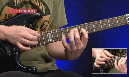 Danny Gill Arpeggio Tapping Lick Lesson With FREE TAB – LickLibrary