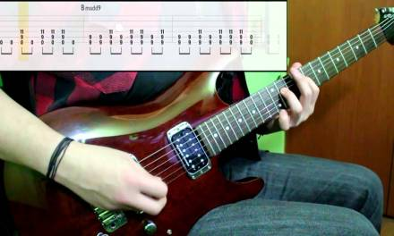 Foo Fighters – Everlong (Guitar Cover) (Play Along Tabs In Video)
