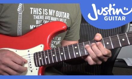 John Mayer – Gravity Guitar Lesson [Solos] Tutorial – JustinGuitar