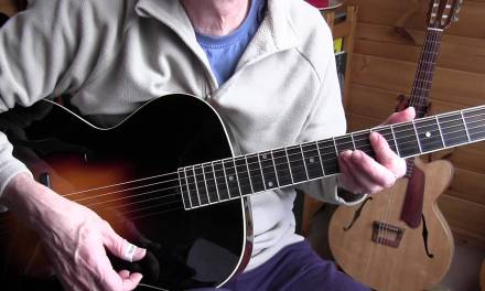Acoustic Jazz Guitar Lesson – Parlez Moi D'Amour-