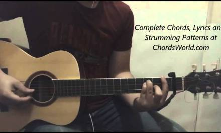 Justin Bieber We Are Chords (Guitar Lesson)