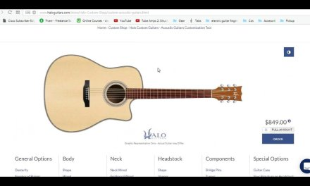 How to Build A Dreadnought SC Acoustic – Custom Online Builder