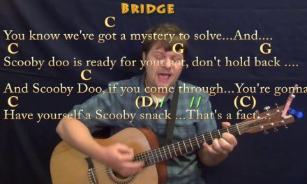 Scooby Doo (TV Theme) Strum Guitar Cover Lesson in G with Chords/Lyrics