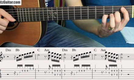 Four Melodies in D minor over Melodic Backing Track | Fingerstyle Solo Ep.2