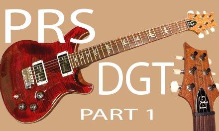 Guitar Repair – PRS DGT Evaluation