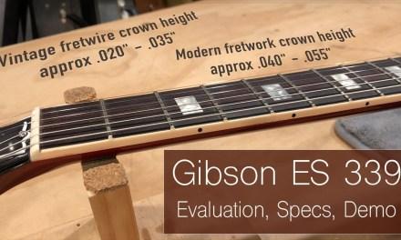 Guitar Repair – Gibson ES 339