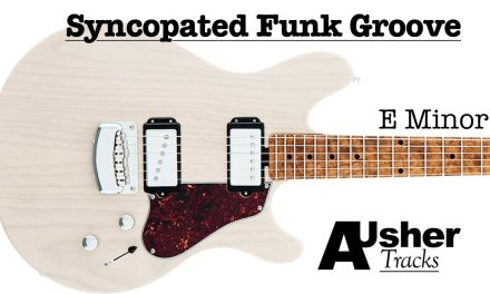 Syncopated Funk Grooves in E minor | Guitar Backing Track
