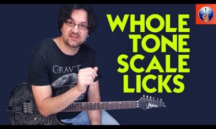How to Add Spice to Your Licks With the Whole Tone Scale – Lead Guitar Lesson