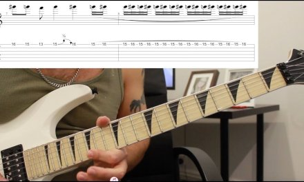 How to play 'Indians' by Anthrax Guitar Lesson w/tabs