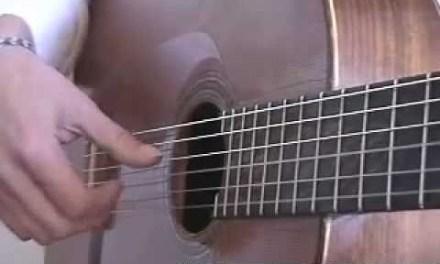 Flamenco Tremolo (5 Note)  Guitar Technique