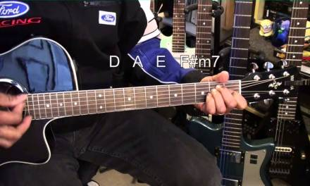 How To Play ELASTIC HEART Sia Guitar Lesson ft. Maddie Ziegler Tutorial