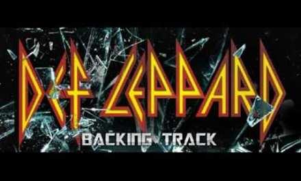 Def Leppard  – You Got Me Runnin (Guitar Backing Track)