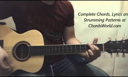 Justin Bieber Mark My Words Chords (Guitar Lesson)
