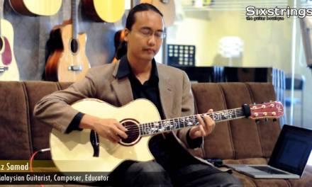 Mini Lessons with Az Samad, Lesson 5: Am Pentatonic – Sixstrings, Malaysia