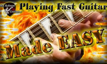 Playing Fast Guitar – Made EASY!
