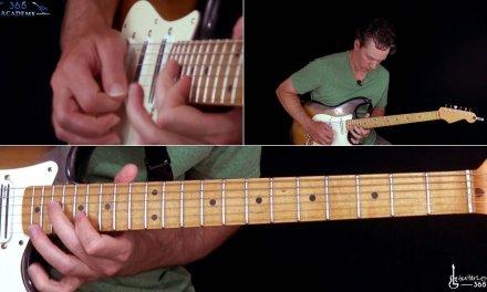AC/DC – Whole Lotta Rosie Guitar Lesson (Second Solo)