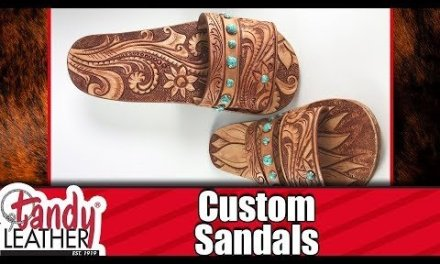 DIY Custom Leather Sandals – EASY WAY