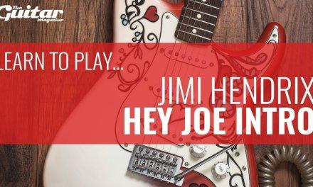 Jimi Hendrix Hey Joe Intro Lesson | TGM Learn To Play