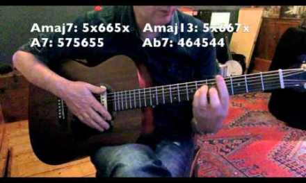 Everybody Wants To Be A Cat – Rhythm Guitar Lesson – Jazzy Chords