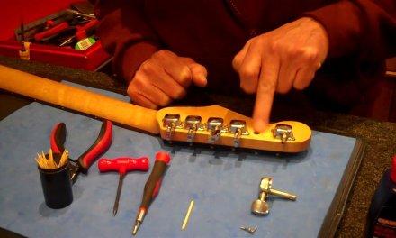 Guitar Repair Shed – Stripped screw thread quickfix
