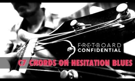 The Fingerstyle C7 Move on Hesitation Blues for Guitar