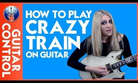 How to Play Crazy Train on Guitar – Ozzy Osbourne Riff Lesson