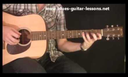 Blues Guitar Lessons – Walking Bass Lines
