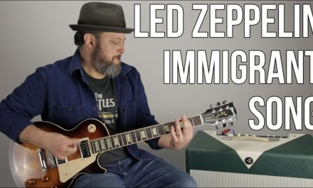 "Led Zeppelin ""Immigrant Song"" Guitar Lesson"