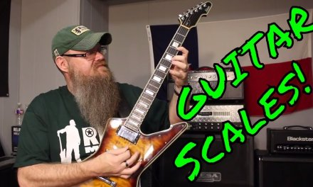 Single String Guitar Scales? Super Easy Barely an Inconvenience!