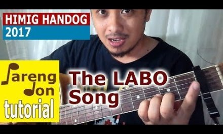 Kaye Cal: The Labo Song chords guitar tutorial | ABS-CBN Himig Handog 2017 Ppop Love Songs