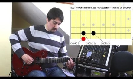 How To Play Barre Chords 4 Playing Twelve Bar Blues With Barre Chords