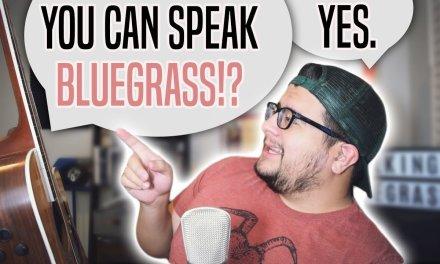 Turning Bluegrass Licks Into Bluegrass Language – Bluegrass Guitar Lesson
