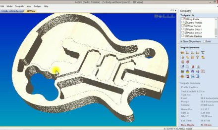Les Paul for CNC – Body with Cavities