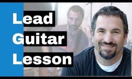 Lead Electric Guitar Lesson – A Secret to Fast Licks (Legato)