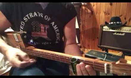 Little Red Rooster lesson on your 3 string Cigar Box Guitar