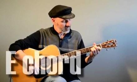 E Chord – Guitar Lesson