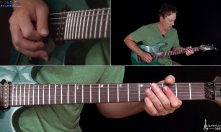 Joe Satriani – Surfing With The Alien Guitar Lesson (Part 2)