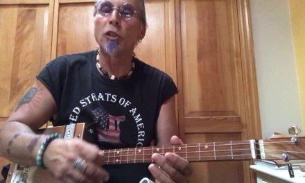 You gotta move lesson for 3 string Cigar Box Guitars