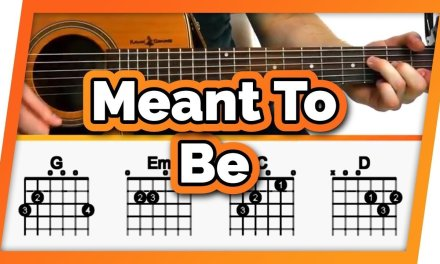 Meant To Be Easy Chords Guitar Tutorial / Lesson – Bebe Rexha ft Florida Georgia Line