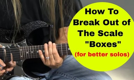 How to Break out of the Scale Boxes for Better Guitar Soloing – Steve Stine Guitar Lessons