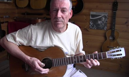 "Acoustic Blues Lesson – How to get that ""Country Blues Bass"" Free TAB"