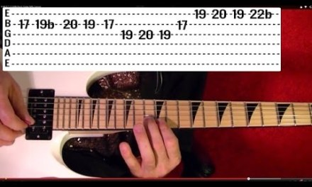 Cum On Feel the Noise Solo – QUIET RIOT – Guitar Lesson
