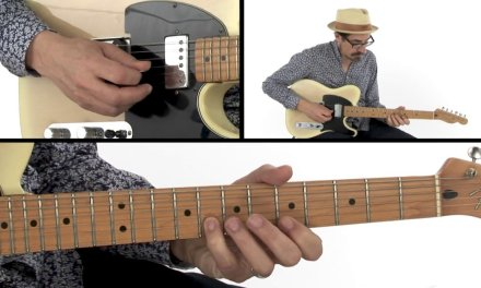 Blues Ending Guitar Lesson – You Say Diminish, I Say Demolish – David Hamburger